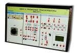 Учебный комплект лабораторного оборудования  «Однофазные и трехфазные трансформаторы» исполнение настольное, ручная версия