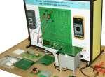 Учебный комплект лабораторного оборудования «Электротехнические материалы» исполнение стендовое, компьютерная версия
