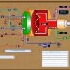 Учебный стенд-тренажер Автоматизированная котельная на жидком и газообразном топливе
