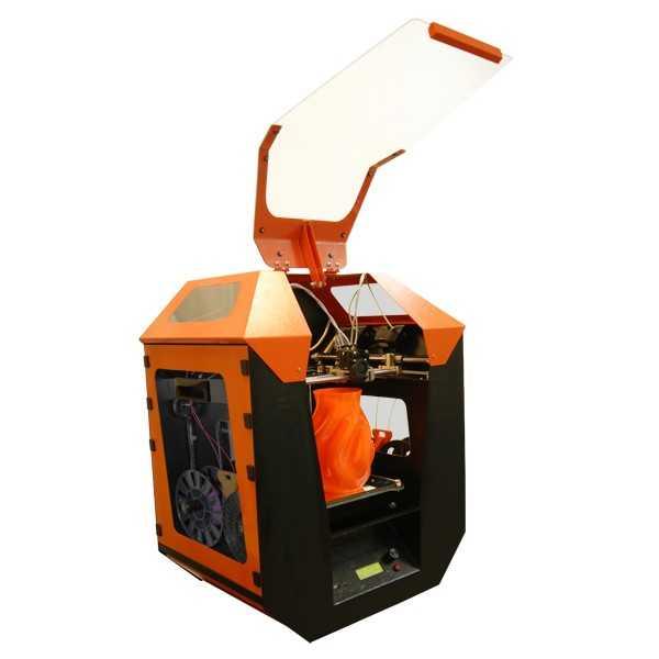 Цветной 3D принтер «Квадро» (одно сопло, 4 экструдера)