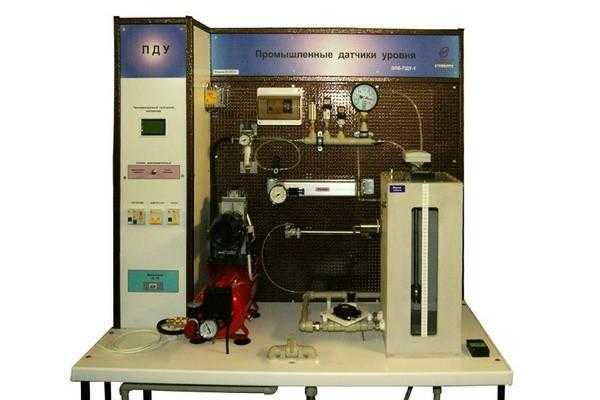 Учебный лабораторный стенд «Промышленные датчики уровня»