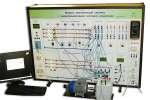 Учебный типовой комплект оборудования «Модель электрической системы» с микропроцессорной системой управления