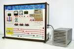 Комплект лабораторного оборудования  «Электрические измерения в системах электроснабжения» исполнение настольное, ручная версия