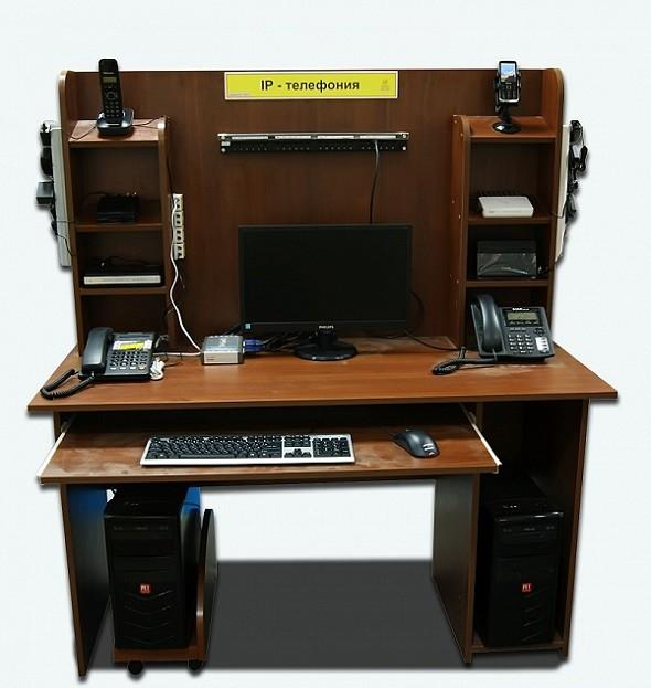 Типовой комплект учебного оборудования «IP-телефония»-2