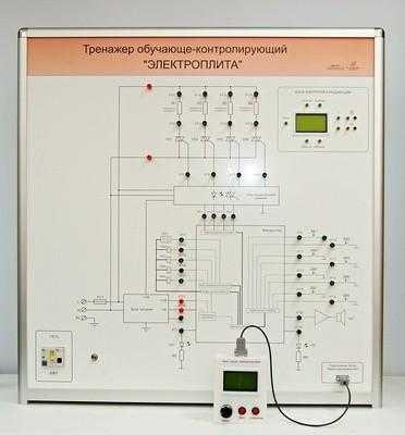 Учебный тренажер обучающе-контролирующий «Электроплита»