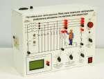 Типовой  комплект учебного оборудования  «Электробезопасность в трехфазных сетях переменного тока с изолированной и заземленной нейтралью»