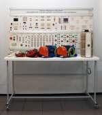 Учебный комплект лабораторного оборудования «Электромонтаж и наладка релейно-контакторных схем управления» исполнение стендовое, ручная версия