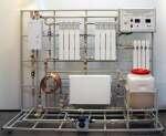 Комплект учебно-лабораторного оборудования «Тепловые и гидравлические характеристики приборов отопления»