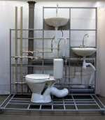 Учебный стенд «Система канализации многоквартирного дома»