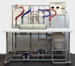 Учебный лабораторный стенд «Определение коэффициента теплопередачи теплообменного аппарата»