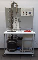 Лабораторная установка «Ректификация», тарельчатая колонна