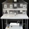 Лабораторная установка для исследования распространения дыма в жилых помещениях