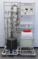 Учебный лабораторный стенд «Ректификация (тарельчатая колонна)»