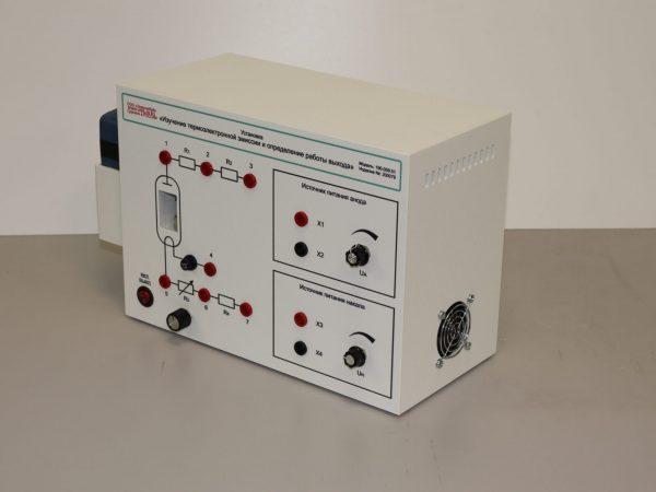 Установка «Изучение термоэлектронной эмиссии и определение работы выхода»