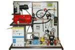 Типовой комплект учебного оборудования «Измерения давлений, расходов и температур в системах водо- и газоснабжения»