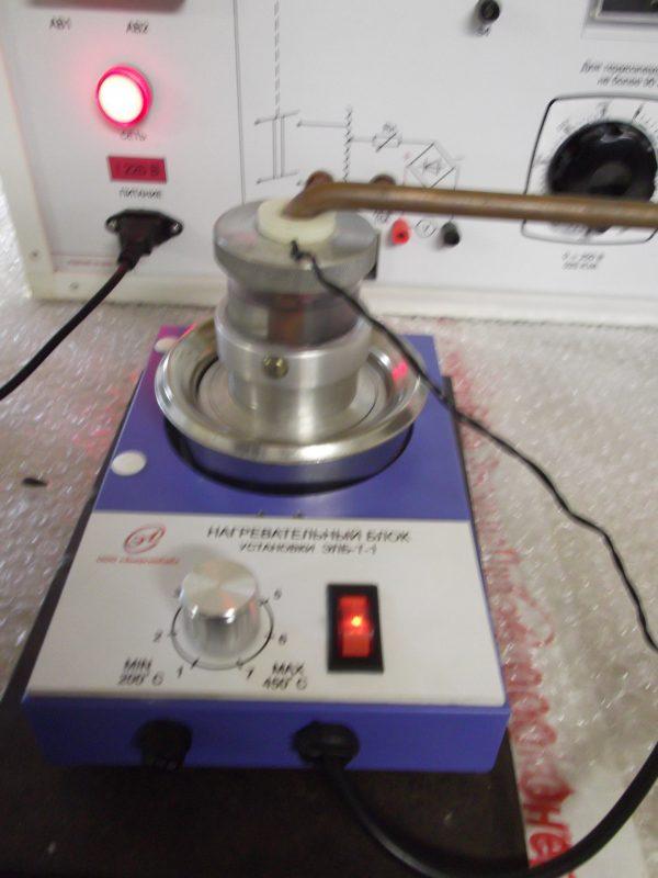 Учебная установка «Теплопроводность и электропроводность металлов»