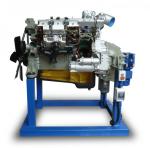 """Стенд тренажер """"Двигатель грузового автомобиля КАМАЗ (агрегаты в разрезе) с электромеханическим приводом"""""""