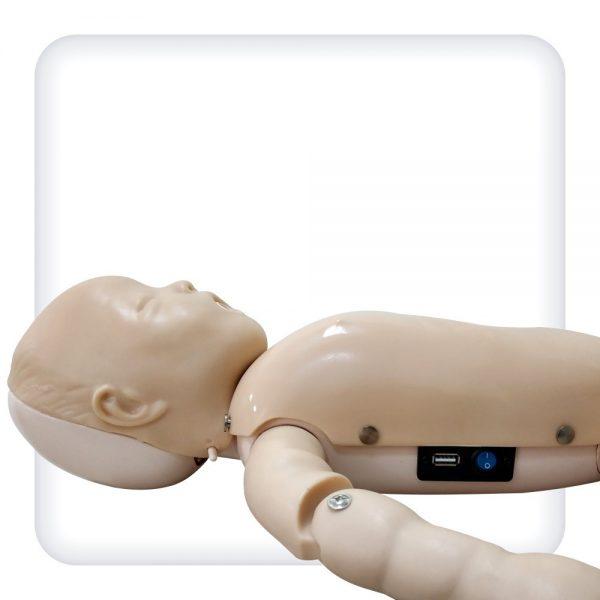 Интерактивный тренажер-манекен ребенка для отработки навыков проведения сердечно легочной реанимации