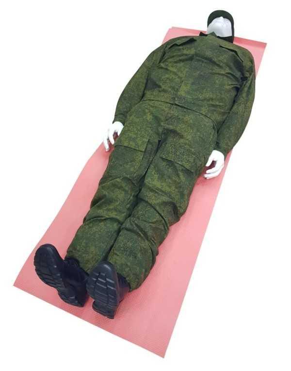Тренажер-манекен взрослого пострадавшего для отработки навыков иммобилизации и транспортировки раненых