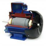 Электродвигатель в разрезе – модель