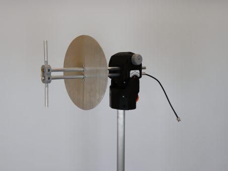 Типовой комплект учебного оборудования «Исследование характеристик направленности и диапазонных свойств симметричного вибратора и телевизионных антенн дециметрового диапазона»